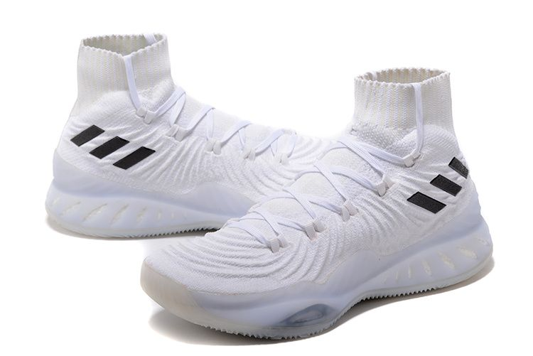 reputable site f4365 c1d60 2017 2018 Basketball Shoes adidas Crazy Explosive 2017 Primeknit FTWR White  FTWR White-Core Black BY4469