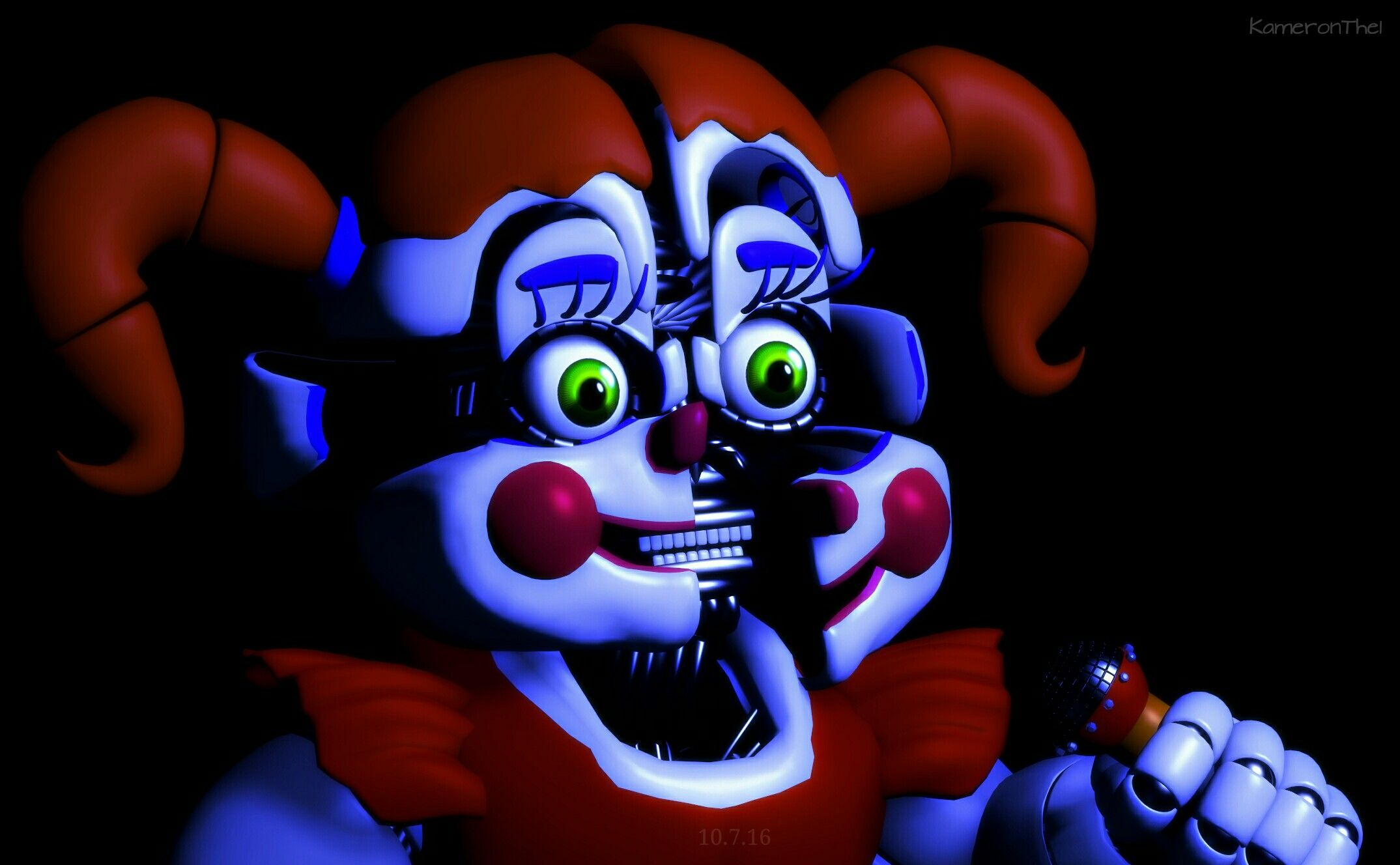 Circus Baby Jumpscare From Trailer Fnaf Baby Fnaf Circus Baby