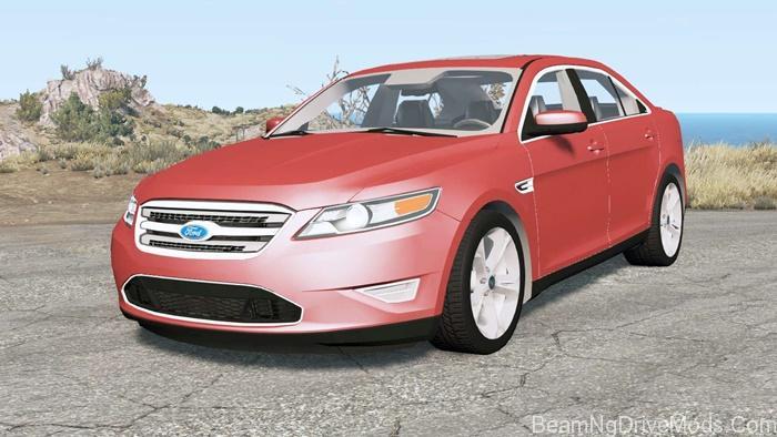 Beamng Ford Taurus Sho 2010 Beamng Drive Mods Download Ford Taurus Sho Taurus Ford