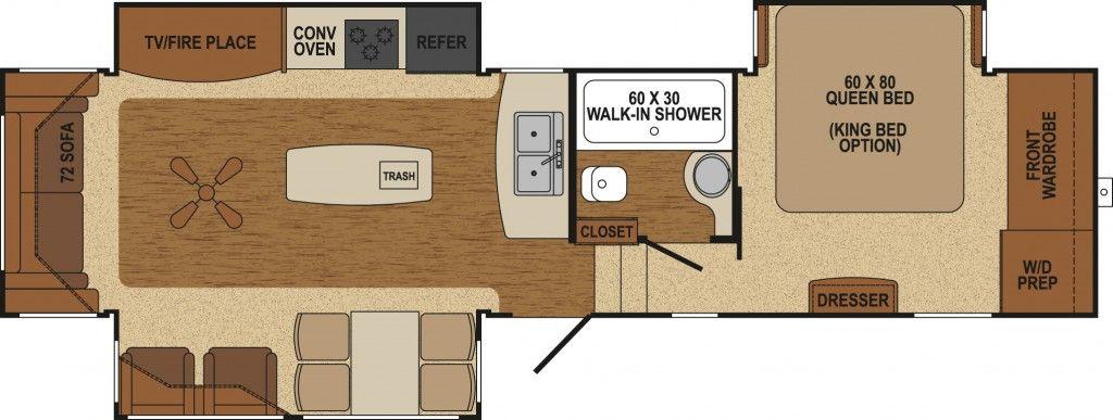 Af 34rs 5th Wheel Floor Plans Bolton Ontario Walk In Shower