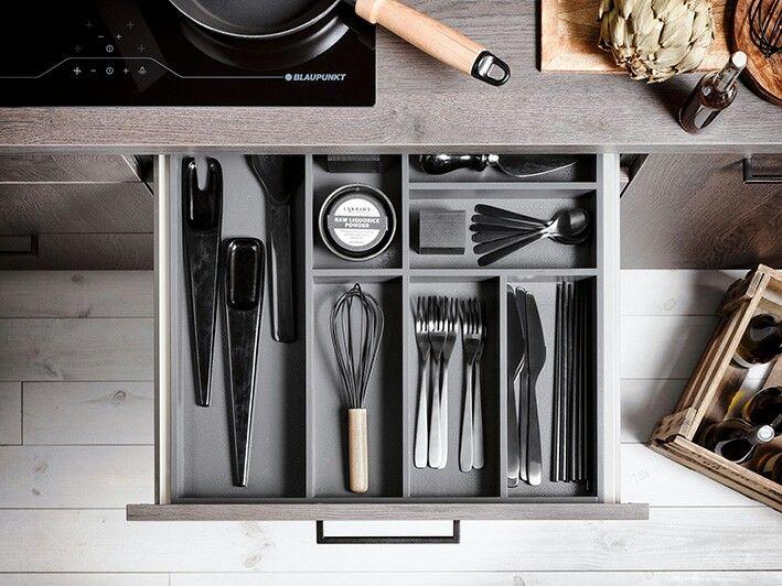ORGANISATIONSTALENTE - unser neuer Farbton für Innenorganisation - ordnung in der küche