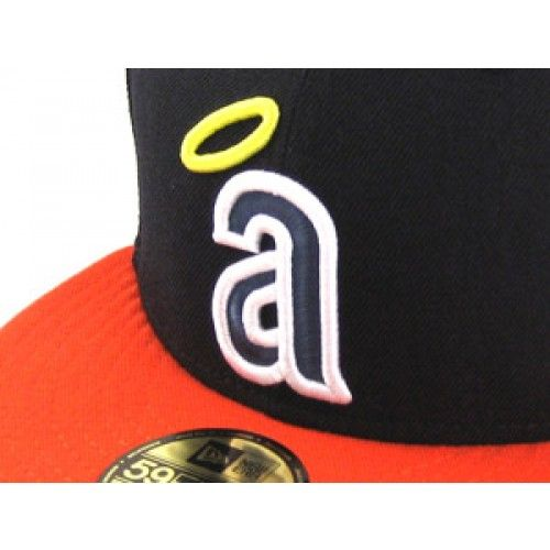 Anaheim Angels New Era 59Fifty Fitted Hats (AIR JORDAN 6 RINGS BEL AIRS)  ec69711bd
