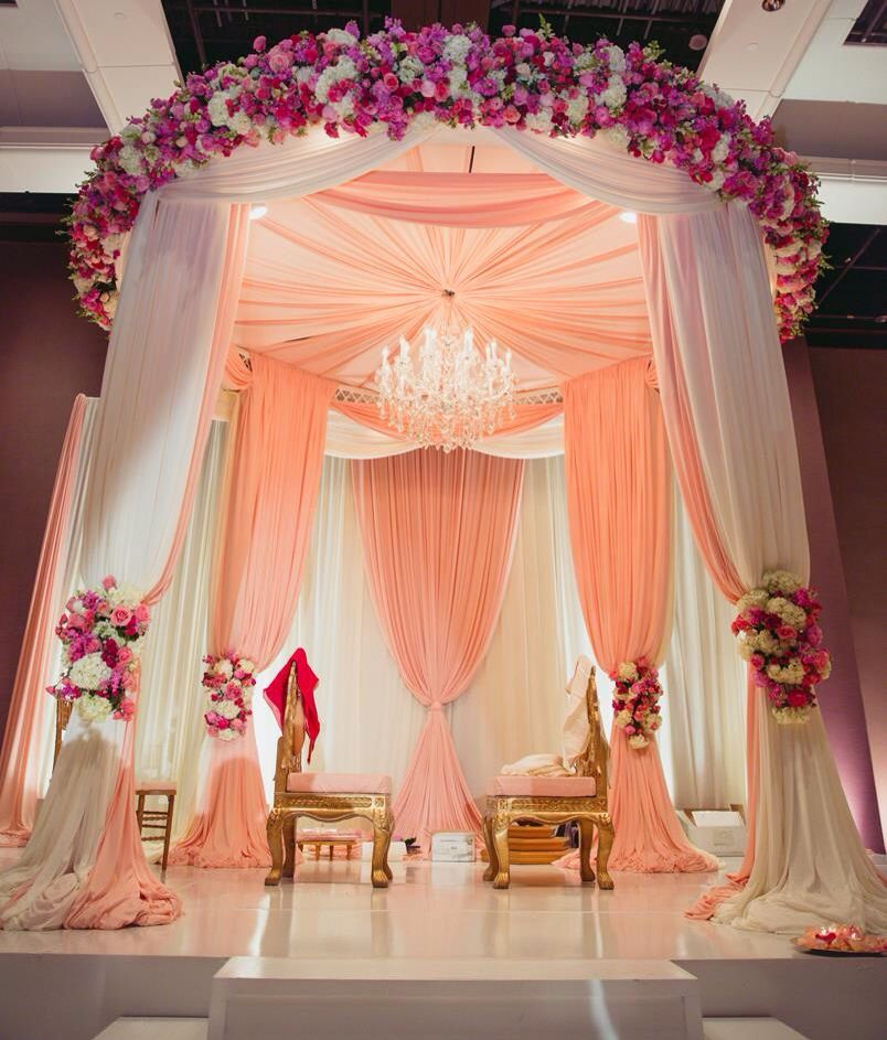 Wedding Decor Ceiling Draping Wedding Canopy Mandap Decor
