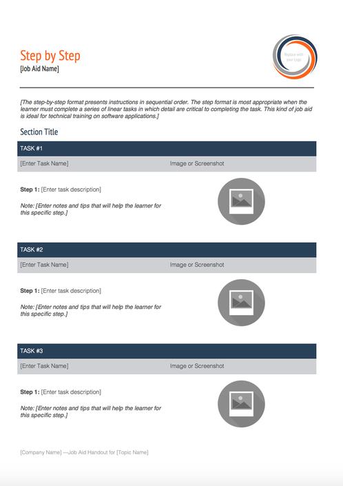 Instructional Design Job Aid Templates Google Search Instructional Design Jobs Instructional Design Job