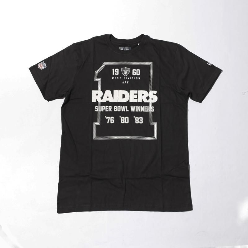 Camiseta New Era NFL Oakland Raiders Preta  c54f6f06699