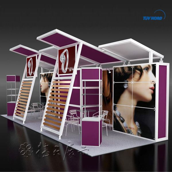 Exhibition Booth Manufacturer China : Aluminum exhibition stand mx m trade fair booth china