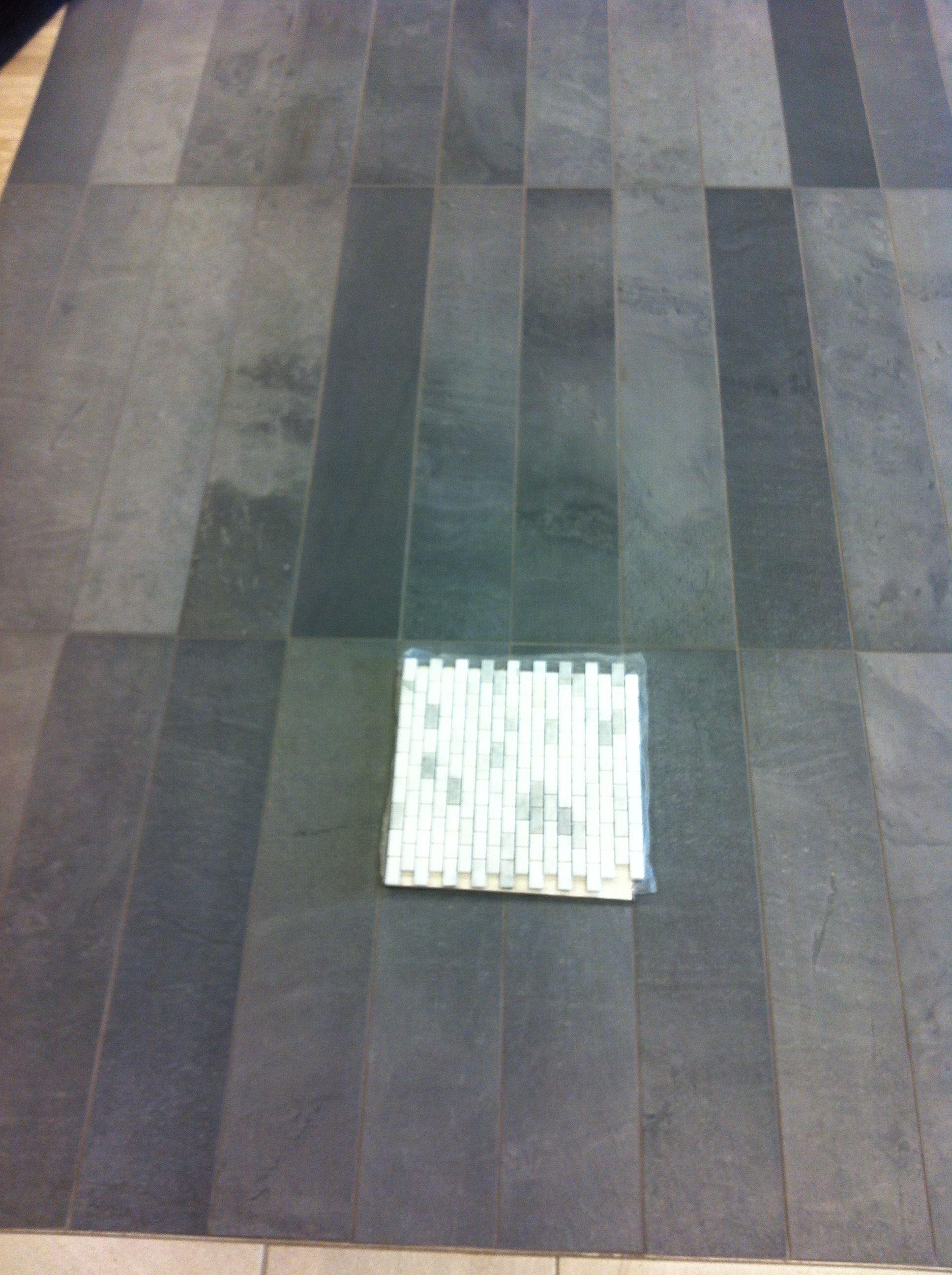 Mid america tile elk grove village - 6x36 Porcelain Floor Tile Green Slate Mid America Tile Elk Grove Village Il Small Bath Floor