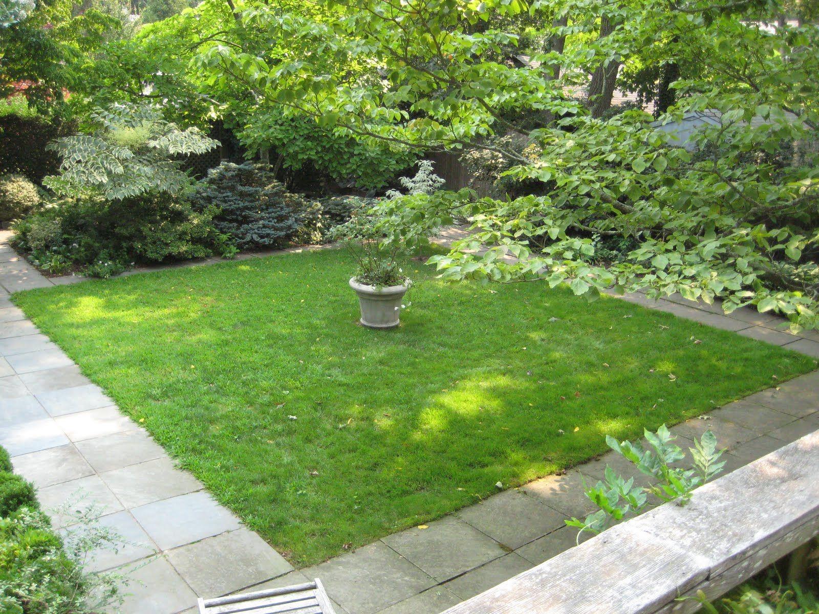 square lawn Google Search Garden design