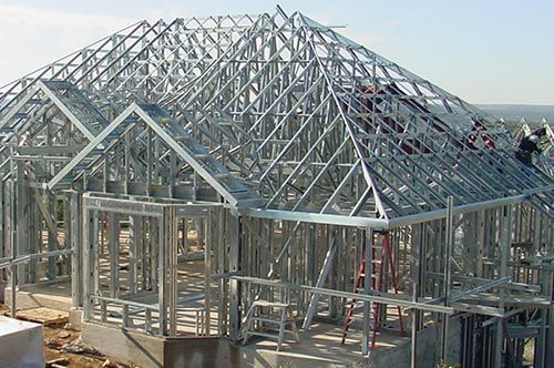 The Benefits Of Metal Studs 6 Reasons For Choosing Steel Over Wood Woodvsmetal Studs Framing Steel Frame House Steel Frame Metal Stud Framing
