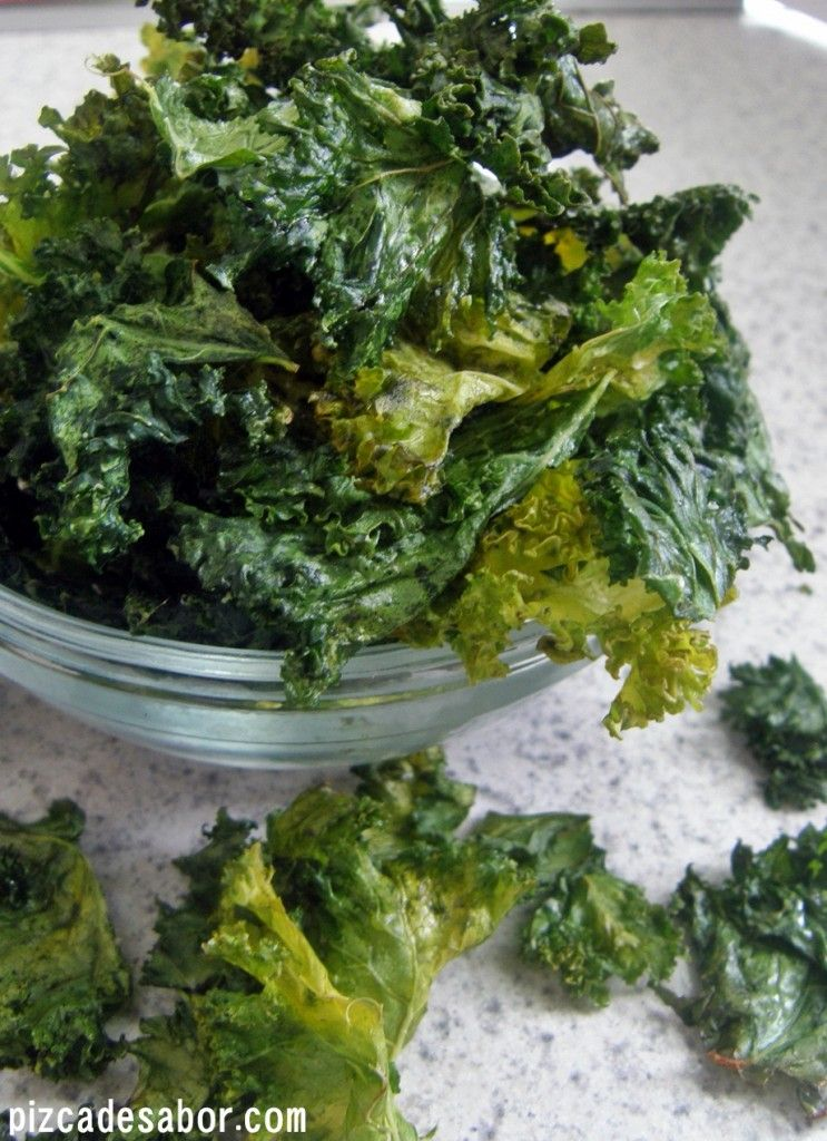 Las 20 Recetas Vegetarianas Más Vistas De Pizca De Sabor Chips De Kale Recetas Vegetarianas Chips De Verduras