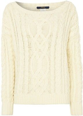 Polo Ralph Lauren Cable knitted long sleeve jumper