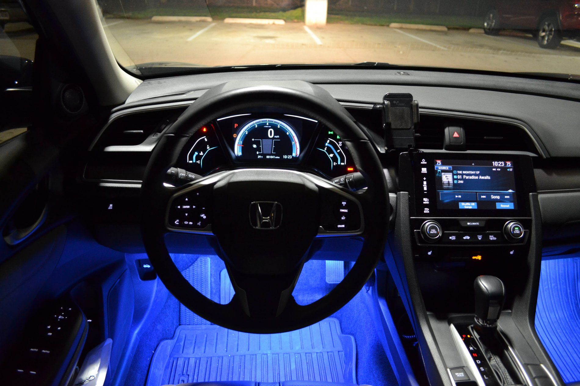 Awesome 2017 Honda Civic Hatchback Interior Lights And Review Black Honda Civic Honda Civic Honda Accord Sport
