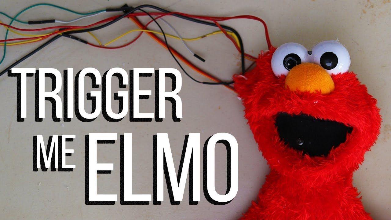 Trigger Me Elmo World S First Race Detecting Toy Elmo World Elmo Geek Stuff
