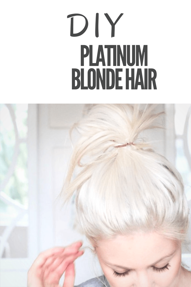 Platinum blonde hair a diy guide platinum blonde hair color