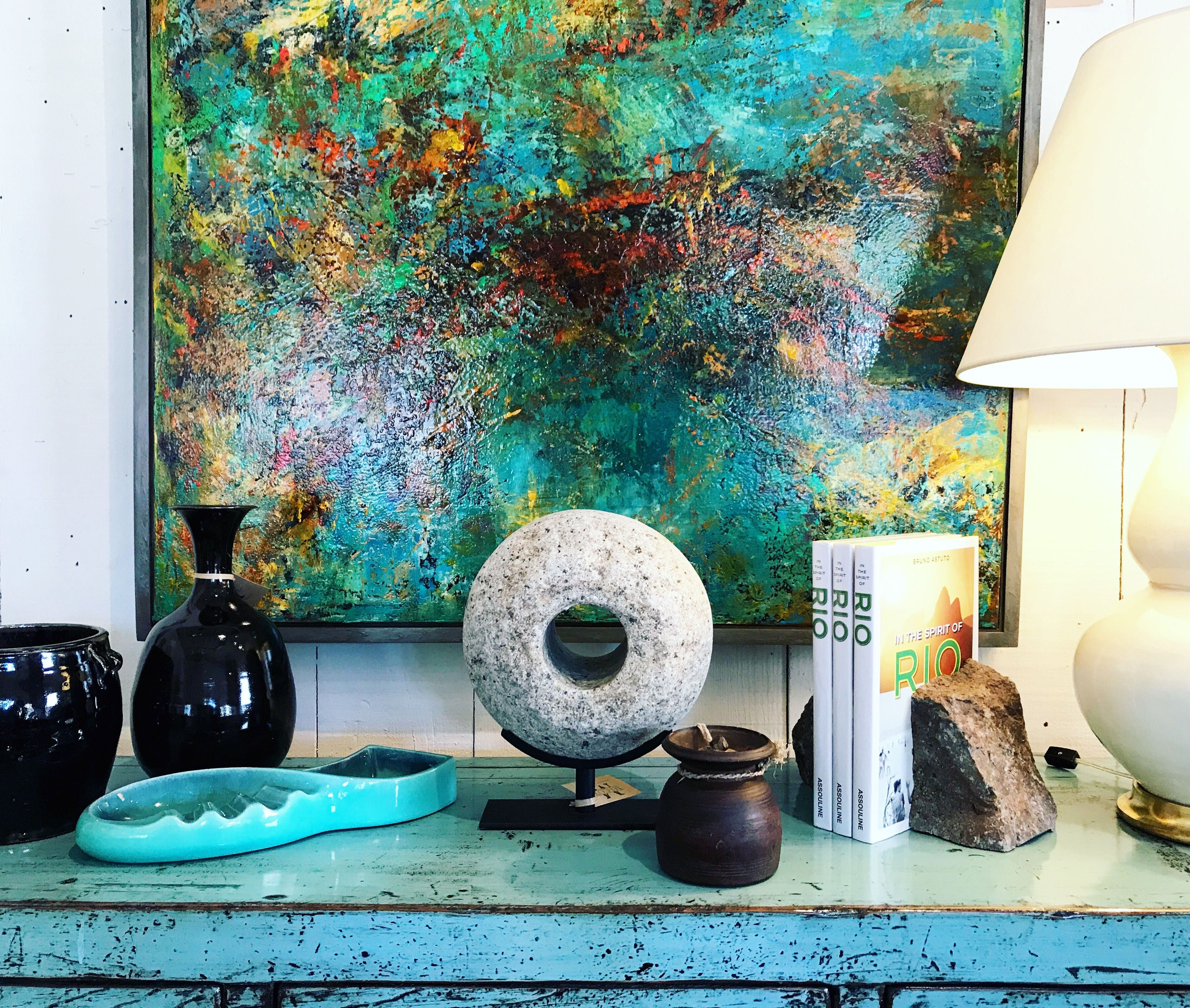 Garden Decor Los Angeles: Vintage Accents And Original Art To Curate Your Dream