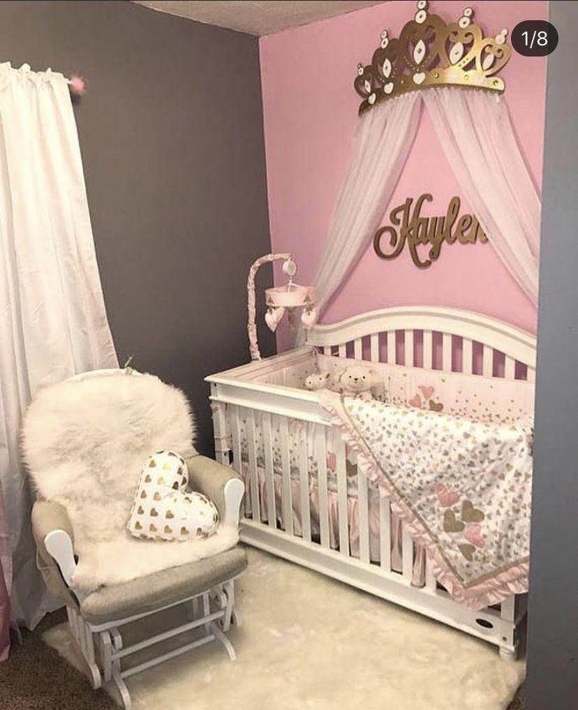 Pinterest Flomille In 2020 Baby Girl Room Baby Girl Bedroom Baby Girl Nursery Pink