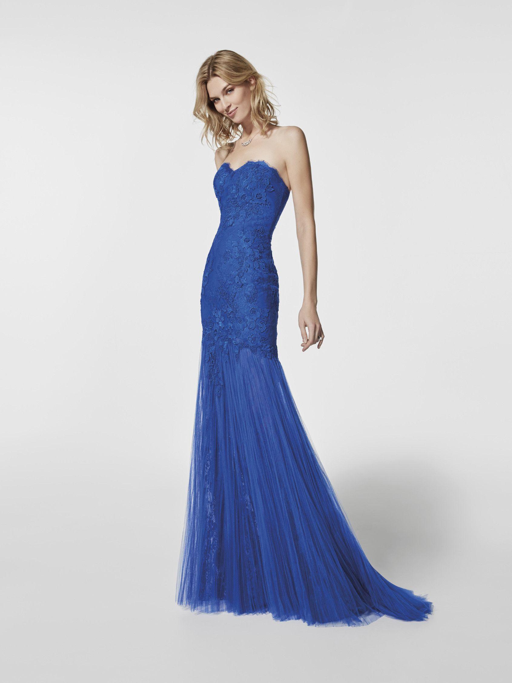 Foto Abendkleid blau (62061) | Kleider | Pinterest | Abendkleid ...