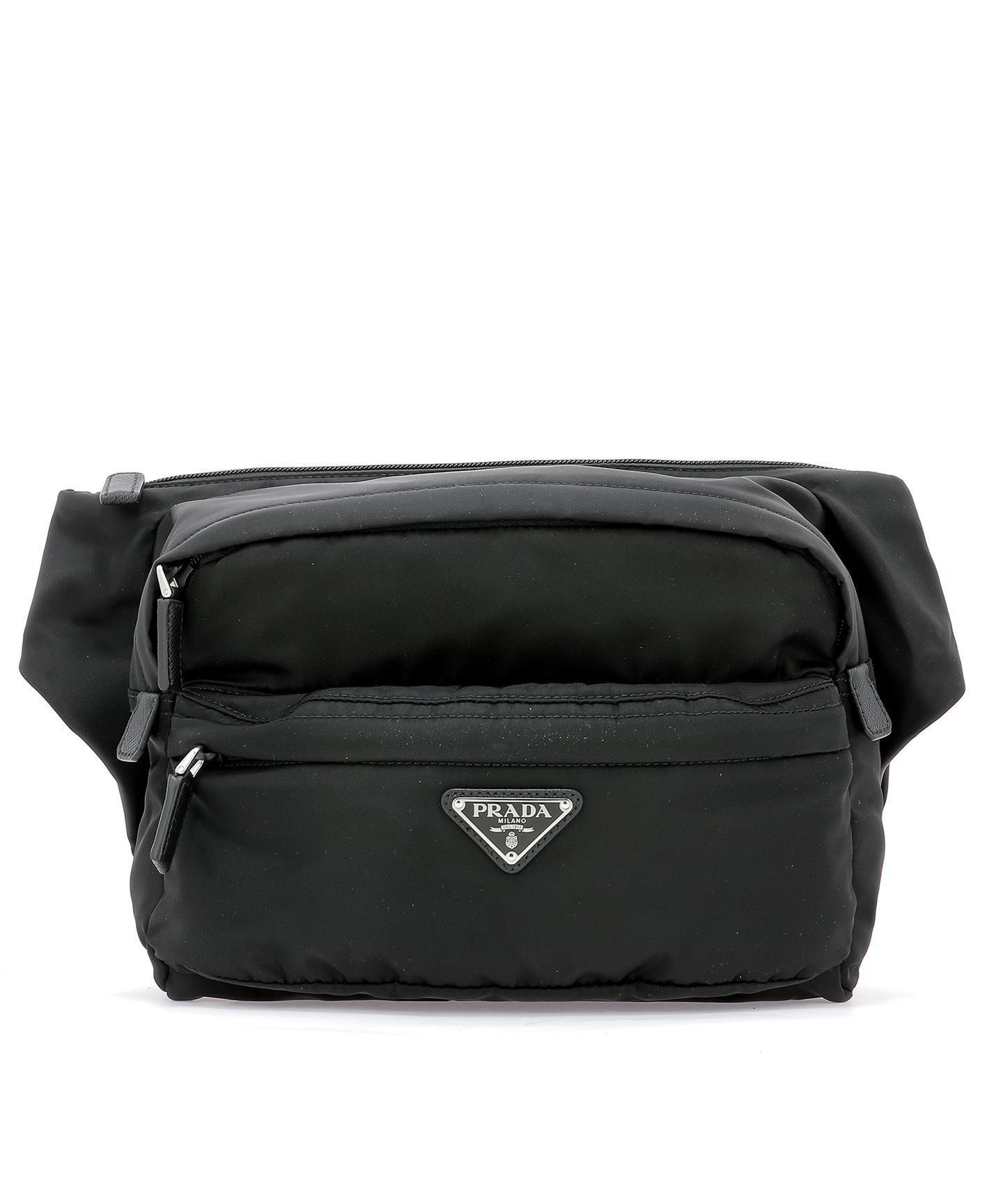 a385e53af813 PRADA PRADA LOGO PLAQUE WAIST BAG. #prada #bags #nylon | Prada ...