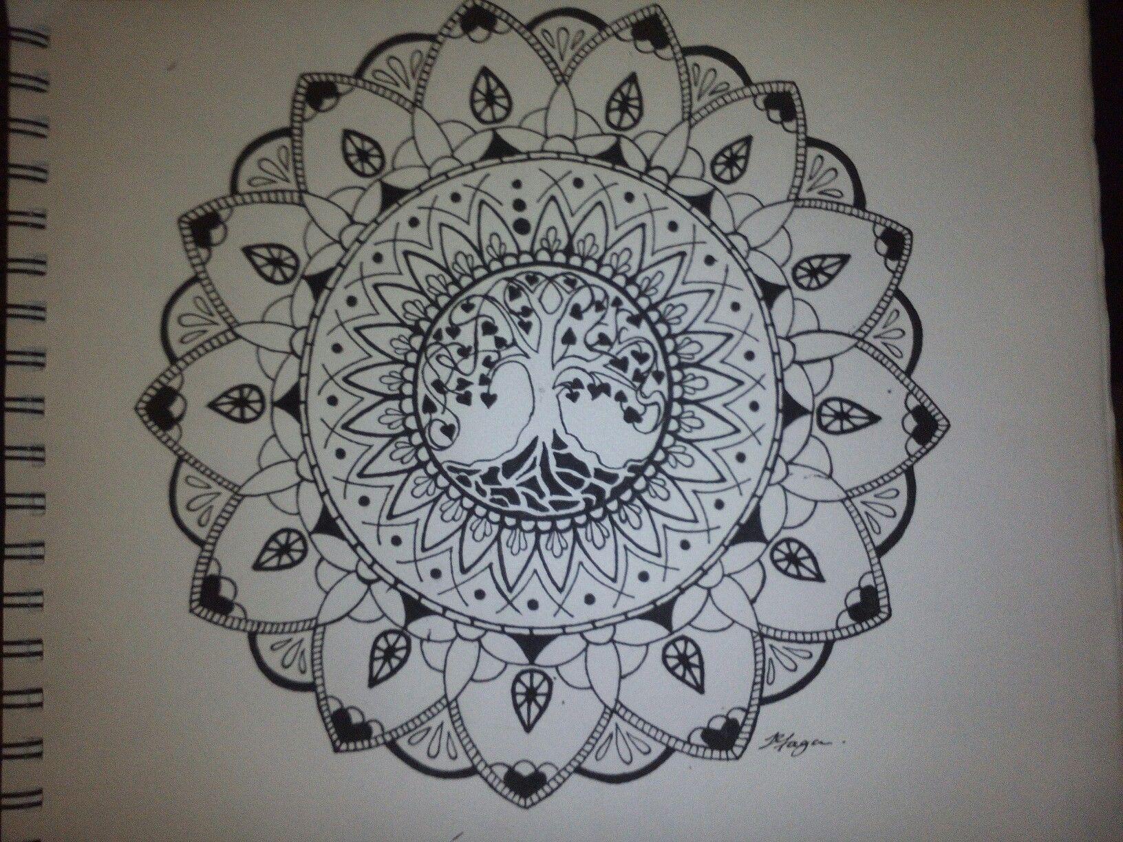 Tree Of Life Mandala Tattoo Tree Of Life Tattoo Tree Tattoo Family Tree Tattoo