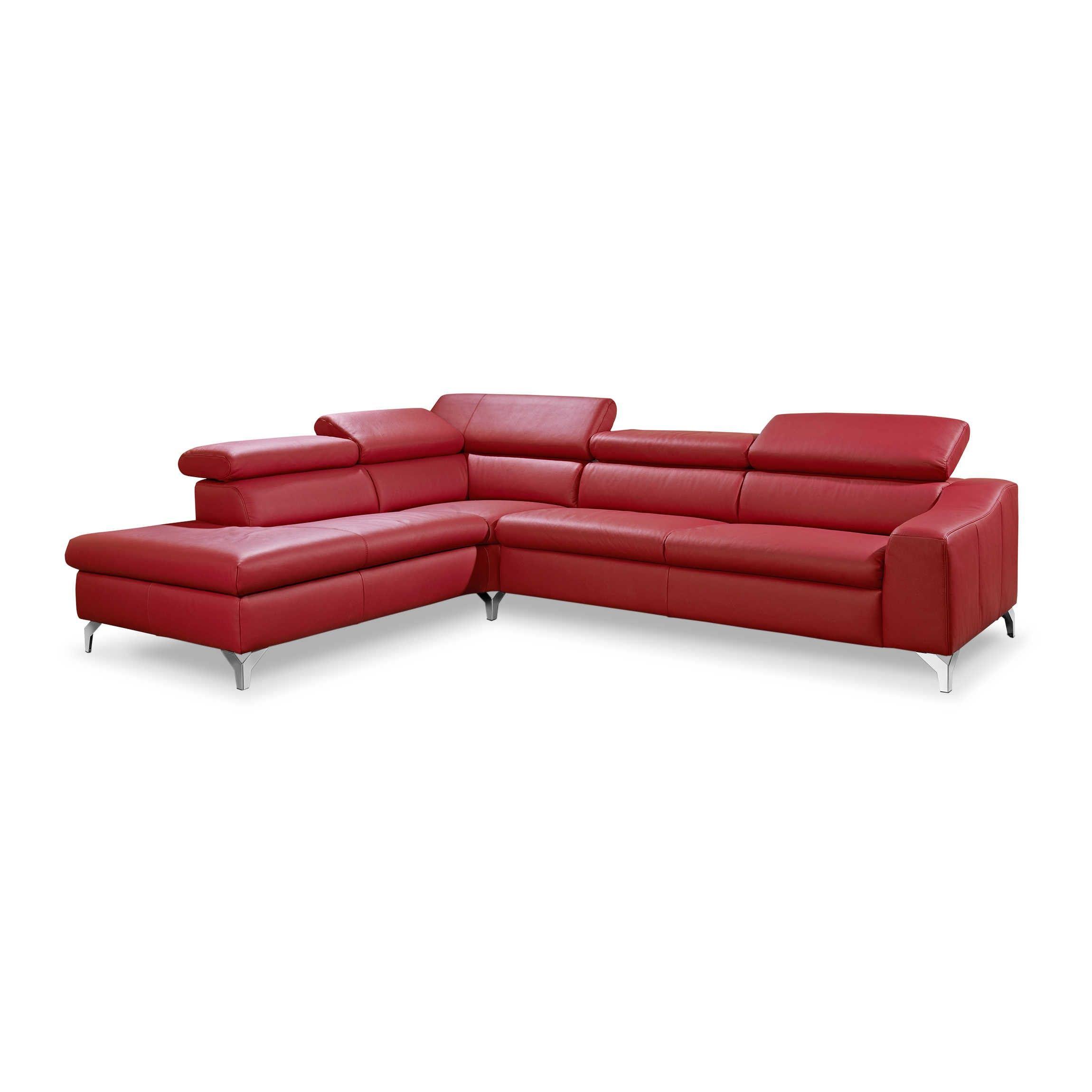 Musterring Ecksofa Mr 4775 Rot Leder Sofa Wohnklamotte
