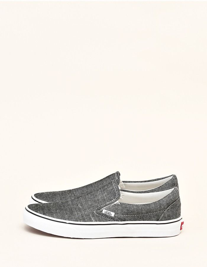 Vans Classic Slip-On Chambray - Nitty Gritty Store