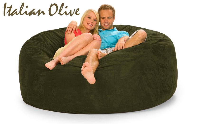 Remarkable Bean Bag Love Seat 6 Ft Products Bean Bag Sofa Bean Machost Co Dining Chair Design Ideas Machostcouk