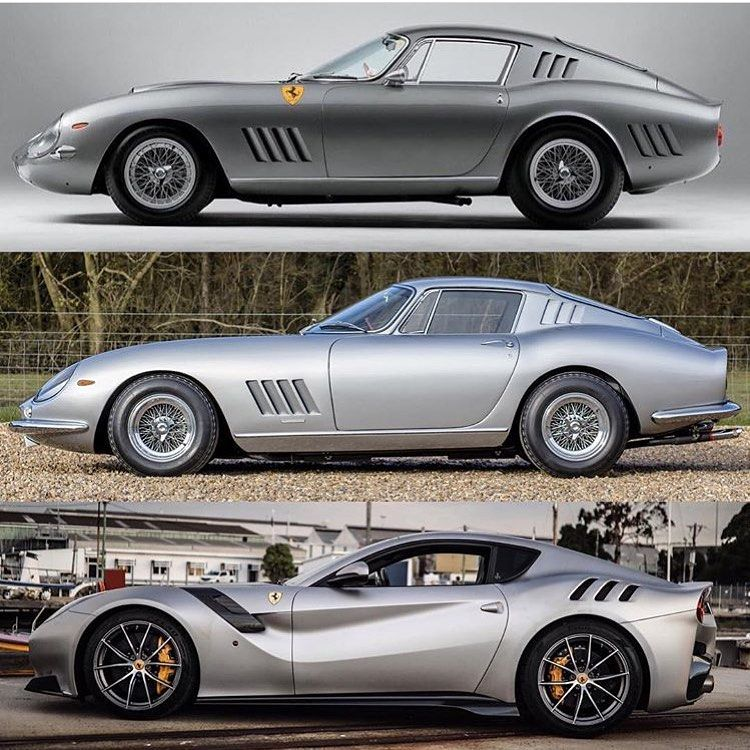 "Jochem Welberg on Instagram: ""The evolution! Ferrari 275 GTB/C Speciale, Ferrari 275 GTB Alloy Body and Ferrari F12 TDF!  By: @uo_tdf  #ferrari #ferrariclassic #classic…"""