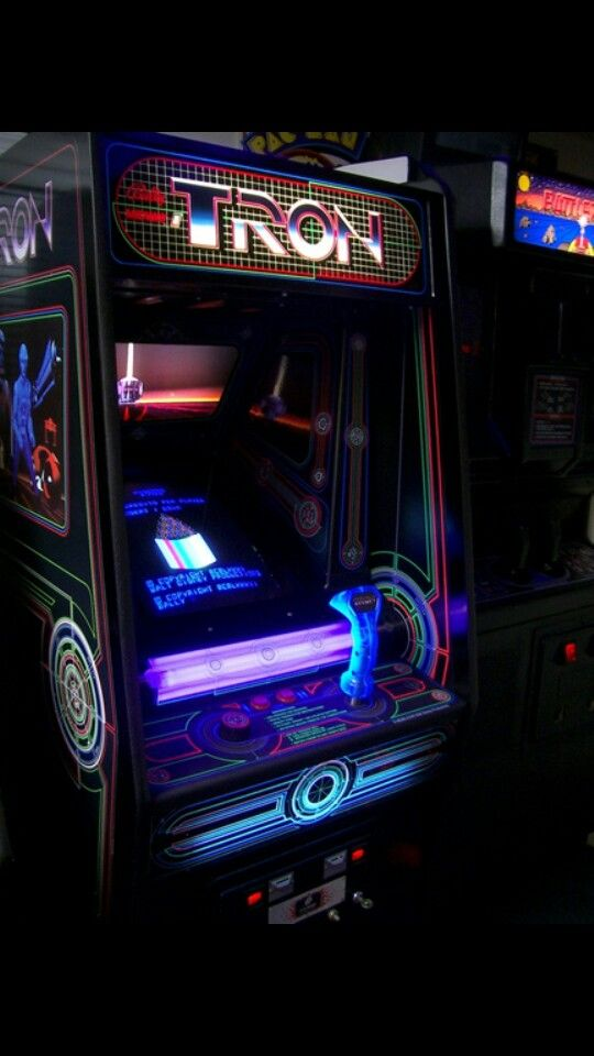 Tron Video Game Based On The Motion Picture Tron Movie