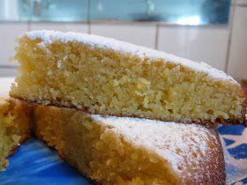 Recettes d'une mère de famille nombreuse: Le célèbre Namandier - gâteau moelleux aux amandes -