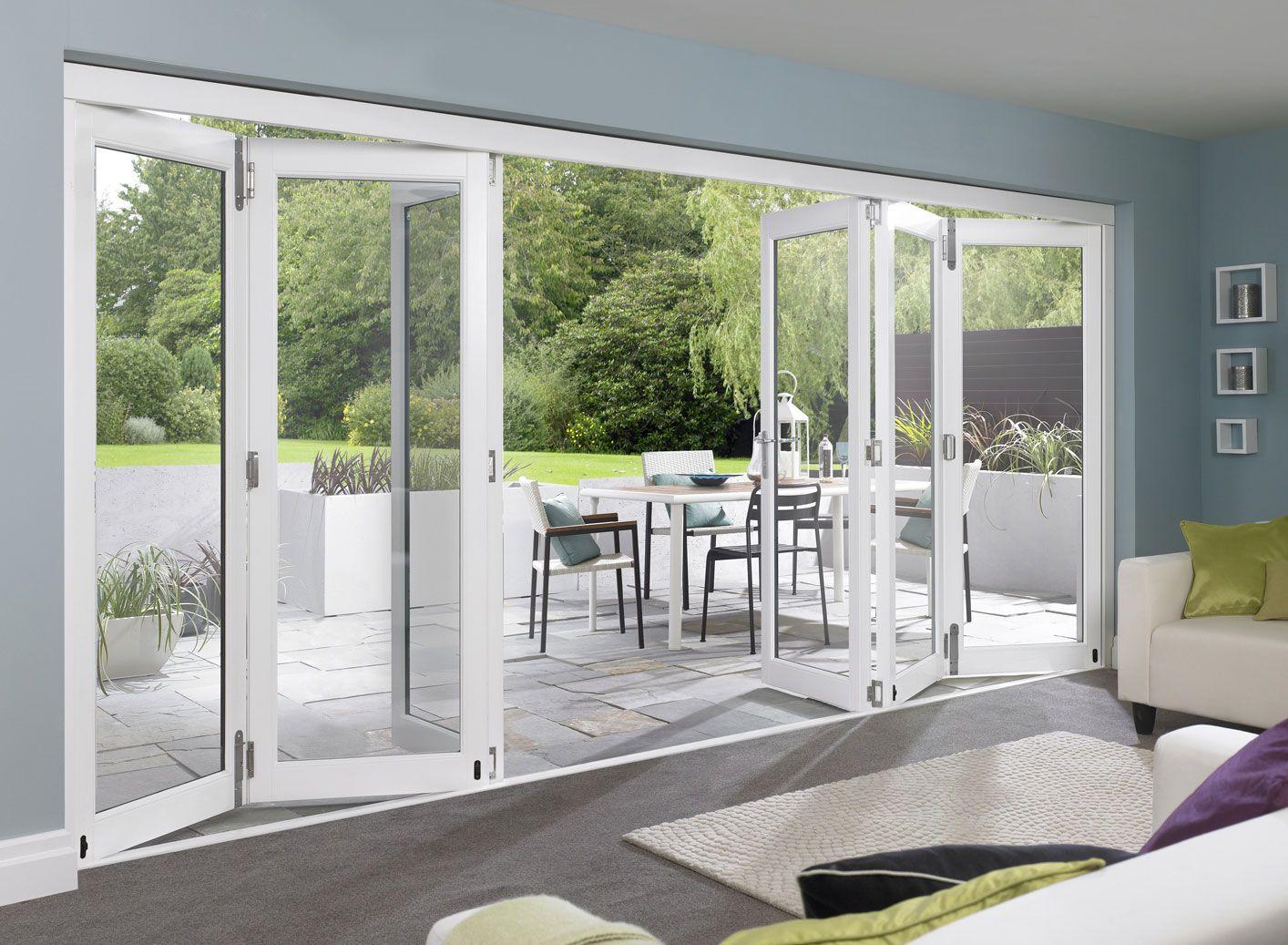 Love These Doors External Bifold Doors White Bifold Doors Folding Glass Doors