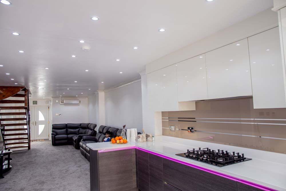 Antelope Mirror Stripes Kitchen Splashback By CreoGlass Design (London,UK).  See More