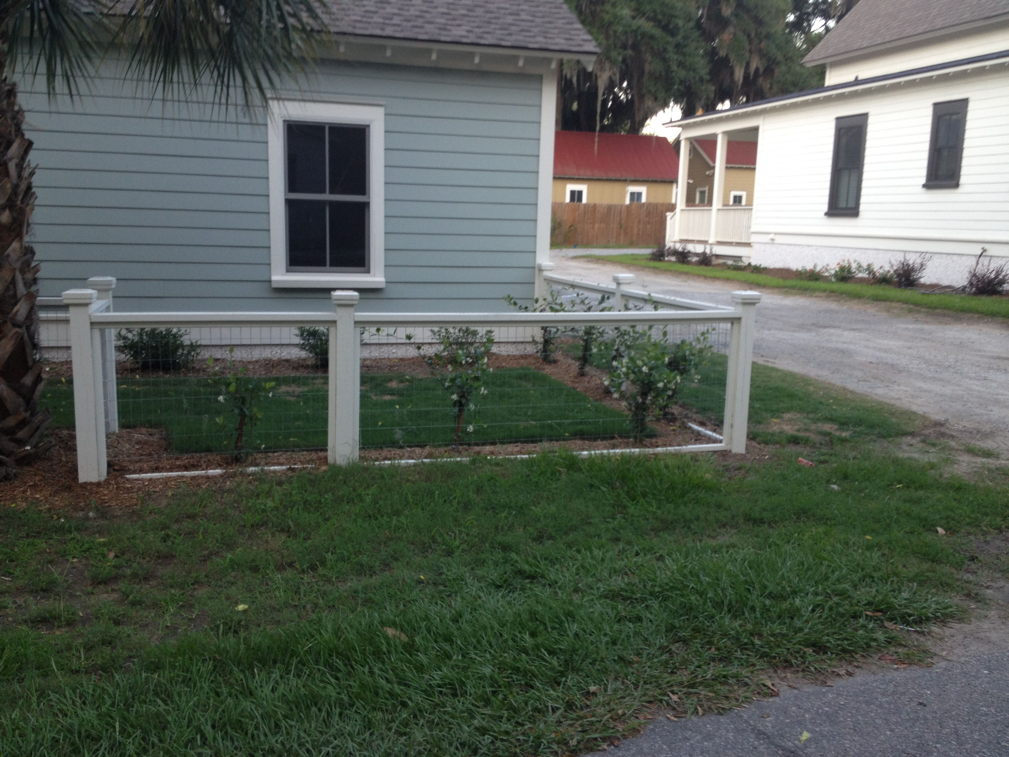 Nice simple fence in Beaufort SC
