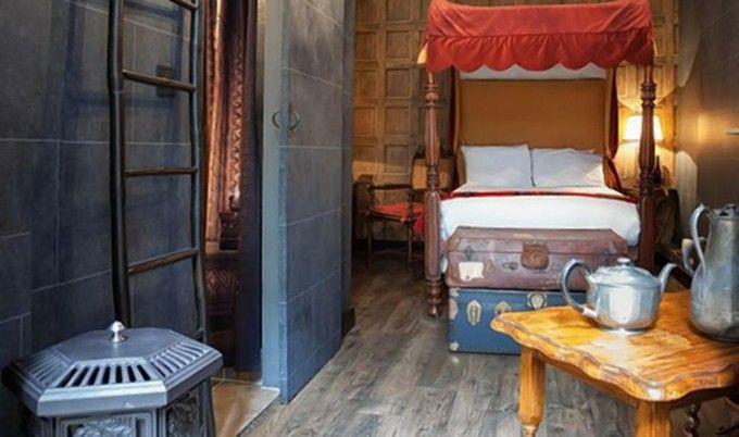 ロンドンにハリーポッターの部屋が!ホグワーツ滞在気分を味わえる「ジョージアン・ハウス・ホテル」