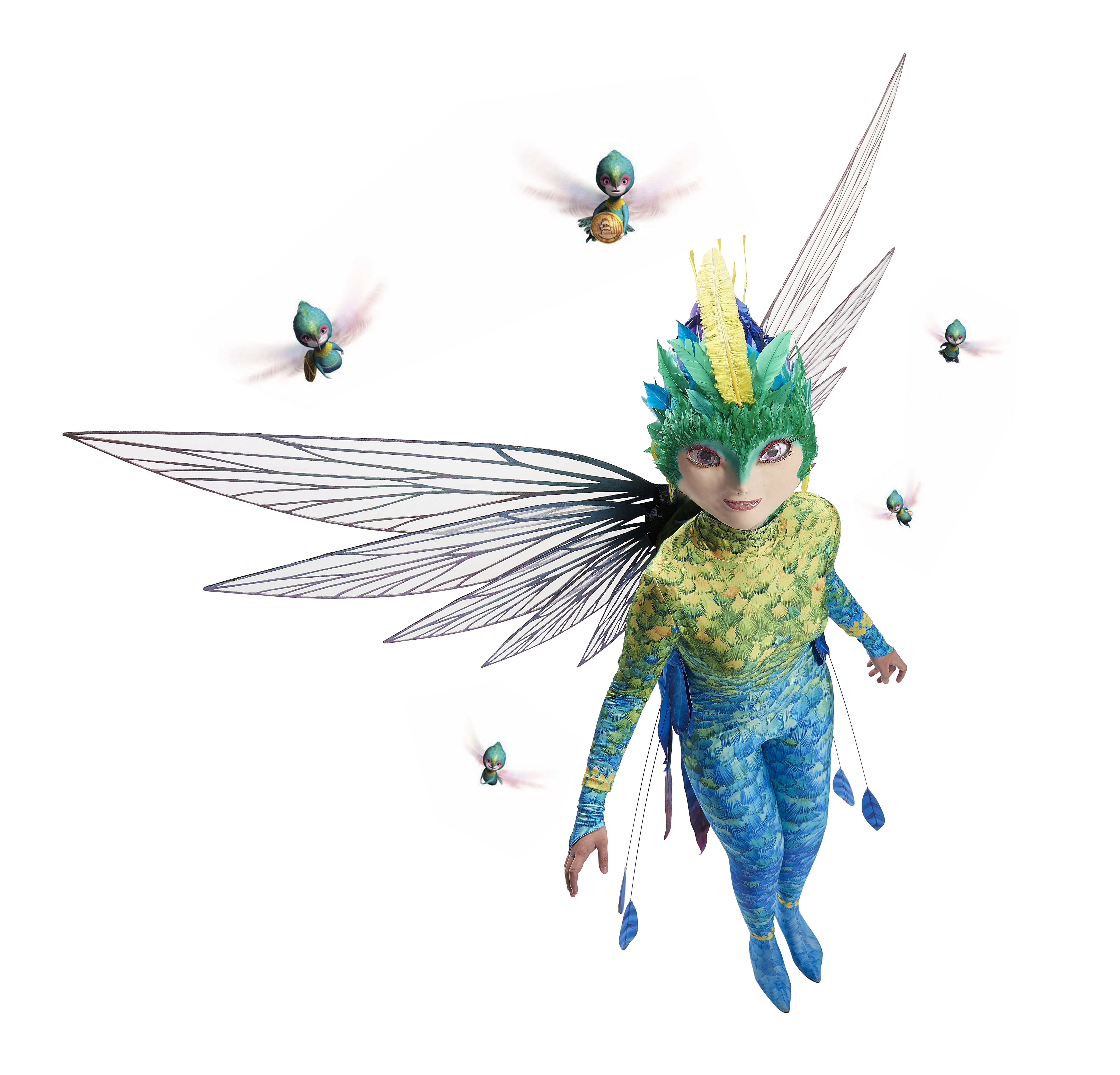 rise of the guardians tooth fairy toothiana cosplay