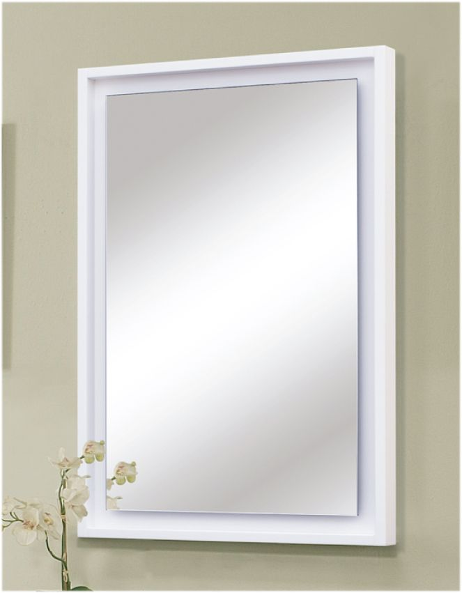 """Audra Bath Vanity Collection Mirror with """"Floating"""" Glass Panel. www.sagehilldesigns.com"""
