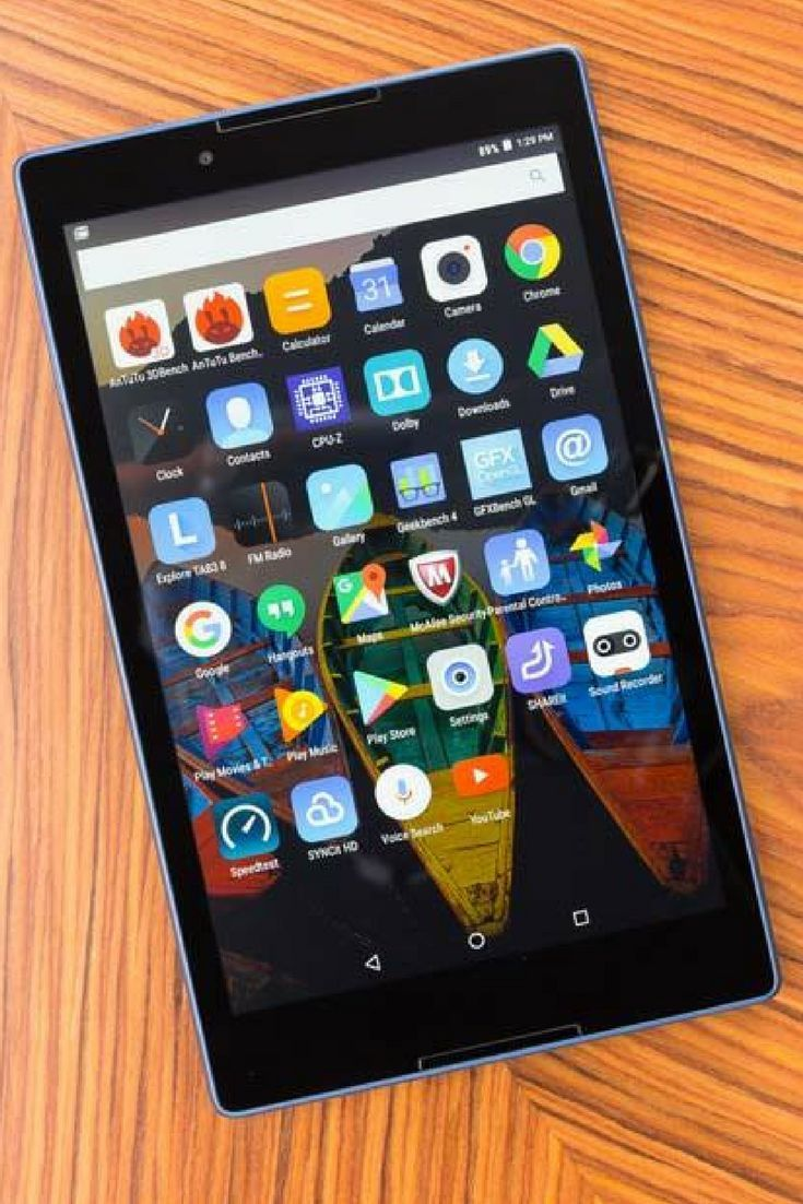 The Lenovo Tab3 8 is a sturdy and relatively affordable