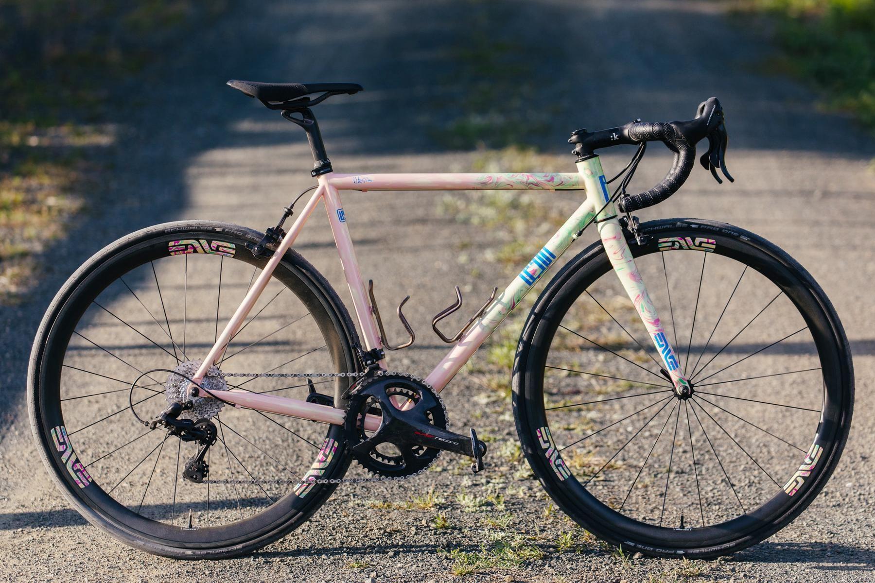 Legor Cicli in California: Tie Dye Road with Campagnolo