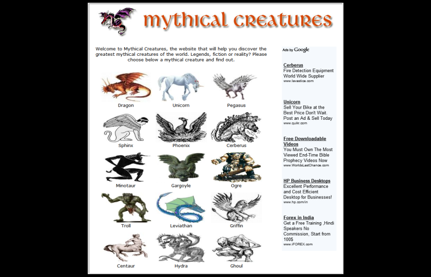 History of Mythical Creatures | Mythical creatures