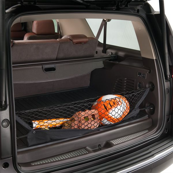 Tahoe Cargo Net Help Secure And Organize Items In The Cargo Area Of Your Tahoe With A Utility Restraint Cargo Net Gmc Trucks Chevy Trucks Gmc