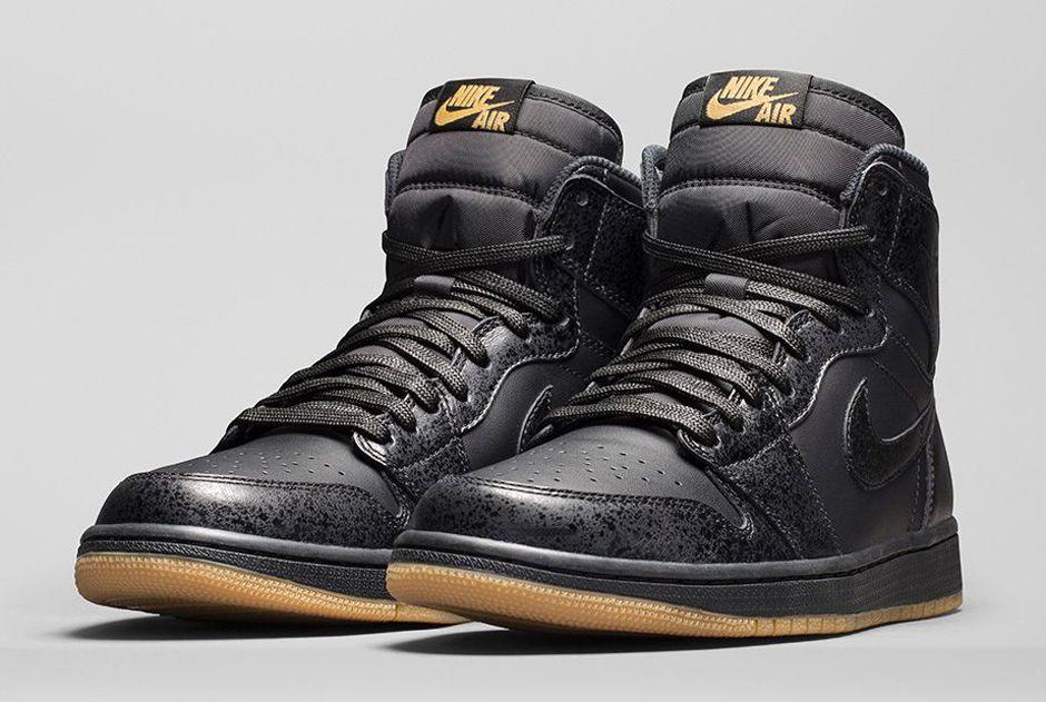 Nike Air Jordan Retro 1 Haut Og Cheveux Noirs / Gris classique en ligne 5zHTWDnuZ