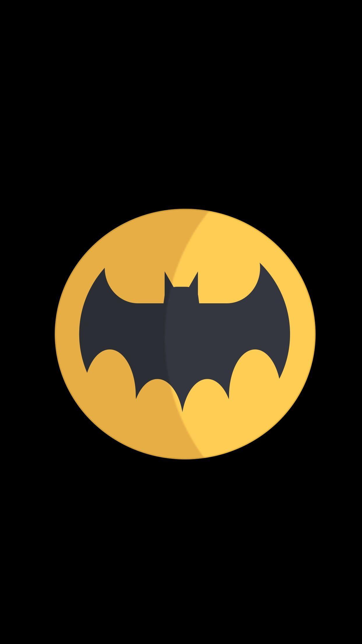 Batman Logo Material Minimal 1080p Wallpaper Hdwallpaper Desktop Batman Artwork Batman Wallpaper Superhero Wallpaper 1080p android mobile batman hd wallpaper
