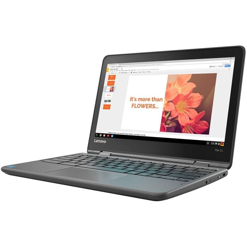 "Lenovo 2in1 11.6"" TouchScreen Chromebook MT8173c"