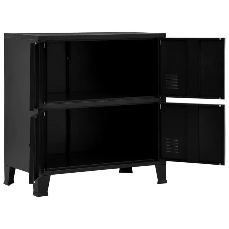 Melike 2 Shelf Storage Cabinet In 2021 Storage Cabinet Shelves Filing Cabinet Storage Shelves