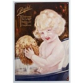 Attractive Pears Transparent Soap Bathroom Tin Sign From Sarah J Home Decor. $32.95
