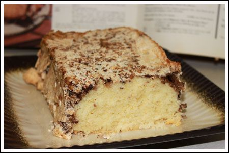 Meringue Cradle Cake