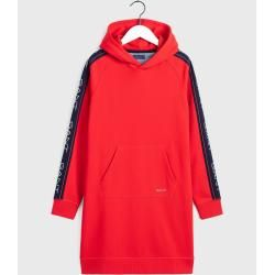 Photo of Gant Icon Hoodie Kleid (Rot) GantGant