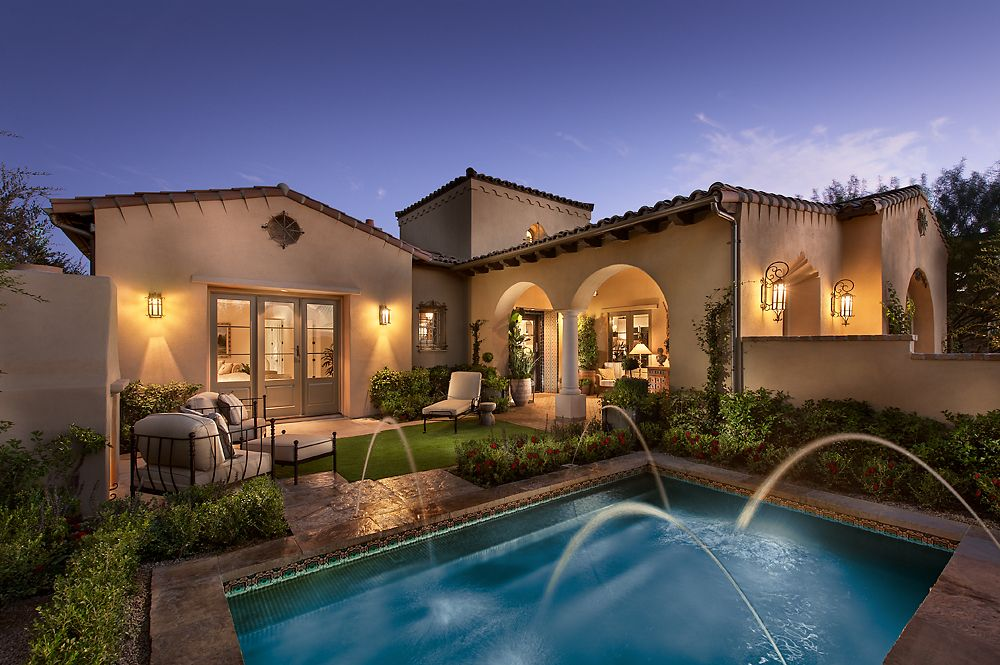 Scottsdale az model homes