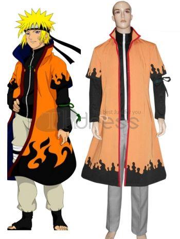 Naruto Cosplay-Naruto Uzumaki 6th Hokage Cosplay Costume