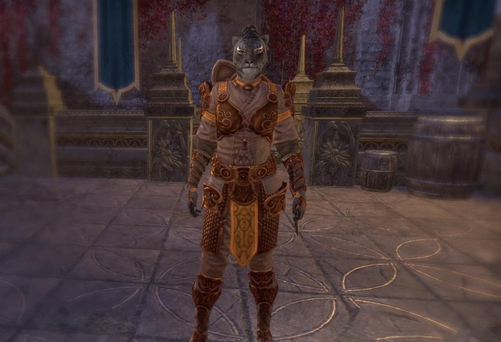 Eso Fashion Imani Do Na Elder Scrolls Online Elder Scrolls Online Elder Scrolls Orange Fabric