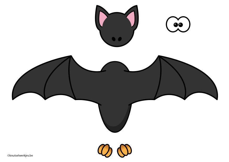 Bat Template Halloween Pinterest Bat template - bat template
